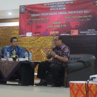 Operating the Layout of Tourism in Bali In Bali Tourism Spatial Planning Seminar