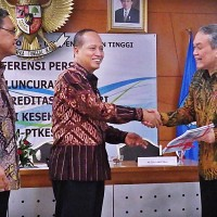 Ministry of Research and Technology Launched Independent Accreditation of Higher Education Institutions of Health Indonesia