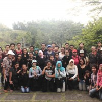 The Students of Landscape Architecture Department Faculty of Agriculture 2014 Went to Karangasem for A Practicum