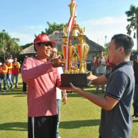 Competing for Rector of Udayana University Trophy, Udayana's Unit of Students' Activity Held Bali's XIX Gateball Invitational