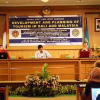 Seminar: Development and Planning of Tourism in Bali and Malaysia