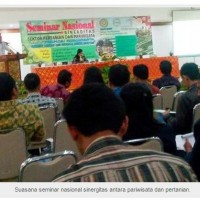 A Seminar about Synergy of Agriculture and Tourism: Knitting Synergy through Agro-tourism