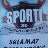 "Information Technology Students' Association Held SPORTI 2015 ""PASSION FOR GLORY"""