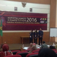 Hippocrates Scientific Team of Medical Faculty of Udayana University Becomes The Grand Champion in Hipotalamus Competition 2016