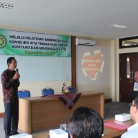 GUIDANCE AND COUNSELING TRAINING FOR  UDAYANA UNIVERSITY STUDENT 2015