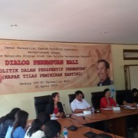 The Student of Association of Political Science Held a Dialog Event of Women Bali In cooperation with DPD RI Representative Bali