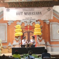 Celebrating  the 4th Mahasabha's Anniversary,  Students of  Balinese Literature Department of Faculty of Letters Unud Held Nyurat Lontar, Macepat and Dharma Wacana Competition
