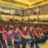 RELEASE OF 2829 STUDENTS AS THE PARTICIPANTS OF STUDENTS SERVICE LEARNING (KKN) XIII UNIVERSITY OF UDAYANA