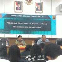 BEM PM of  Udayana University Held Deliberation with Rector