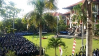 WELCOMED INDEPENDENCE DAY, UDAYANA UNIVERSITY HELD NATIONAL CEREMONY