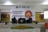 Paying attention to the education of its members, UKM Kopma Unud conducted Diksarkop 2016