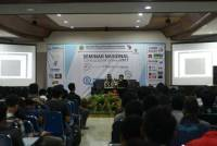 Students of Information Technology Unud Held a National Seminar