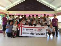 EIGHT STUDENTS OF INTERNATIONAL RELATIONS DEPARTMENT UDAYANA UNIVERSITY JOIN A RESEARCH PROJECT VOYAGE DIVERSITY IN CONJUNCTION WITH STUDENTS OF  TOYO-JAPAN UNIVERSITY