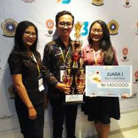 STUDENTS FACULTY OF ECONOMICS AND BUSINESS UDAYANA UNIVERSITY WON THE NATIONAL ESSAY COMPETITION OF NATIONAL ECONOMY SRIWIJAYA
