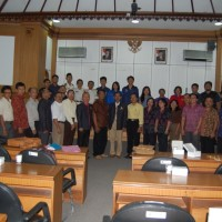 UDAYANA UNIVERSITY'S DEPARTMENT OF STUDENTS' MATTERS MEETING AND UNUD'S FORMER VICE DEANS FAREWELL