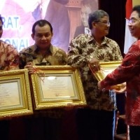 UDAYANA UNIVERSITY CENTRAL ARCHIVE WON THE BEST THREE OF   NATIONAL AWARD