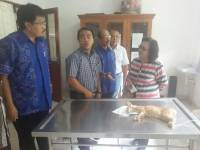 Assessor Also Visit Laboratory and Animal Hospital UNUD