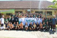 Through World Earth Day,  KMPL of Udayana's Medical Faculty Encouraged Young Generation to Care about the Environment