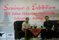 JOIN COOPERATION WITH ALUMNI UNITS FROM JAPAN-BALI, FACULTY OF TOURISM  UDAYANA UNIVERSITY HELD SEMINAR OF INDONESIA-JAPAN DIPLOMATIC RELATIONSHIP