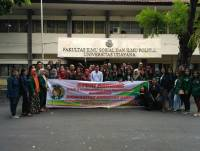 AN ACADEMIC VISIT FROM LIBRARY DEPARTMENT OF SUMATERA UTARA UNIVERSITY TO DIPLOMA-3 LIBRARY DEPARTMENT OF UDAYANA UNIVERSITY