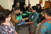 Medical Faculty of Udayana University Held Retirement Graduation Ceremony and Knitting Inter-Generational Gathering