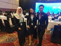 ORGANIZED BY MINISTRY OF FOREIGN AFFAIRS INDONESIA: THREE STUDENTS OF INTERNATIONAL RELATIONS ATTEND BALI DEMOCRACY STUDENTS CONFERENCE