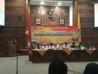 Udayana University's Rector Was One of Many Speakers In the 86th Bali's Governor Simakrama