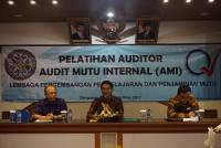 LP3M DID AUDITOR TRAINING OF AUDIT INTERNAL QUALITY (AMI) FOR LECTURERS IN UNUD's ENVIRONMENT