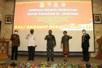 Udayana University Gives Appreciation in the Health Sector to Pangdam IX / Udayana