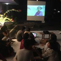 UDAYANA FACULTY OF SOCIAL AND POLITICAL SCIENCES' STUDENT EXECUTIVE BOARD HELD A FILM SCREENING TO SHARPEN STUDENTS' SOCIAL SENSITIVY