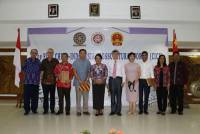 UDAYANA UNIVERSITY AND KONJEN P.R. CHINA HELPS CICF