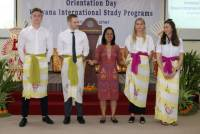 Dipadati Peminat, Program Udayana International Study Program Personal Trainer diikuti 70 siswa asal Norwegia