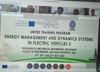 UNITED Training Program Energy Management and Dynamics Systems in Electric Vehicles II