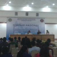 Taking Part All National Librarians,   D3 Of Library Science Study Program Held A National Seminar