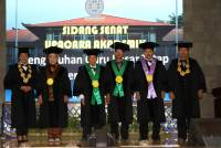 Four Permanent Professors were inaugurated by the Chancellor of Unud