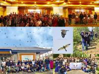 Udayana University Bird Sculpture Museum Organized the Predatory Bird Migration Observation Festival 2018