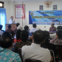 Workshop on Model Development of Learning Process and E-Learning of Veterinary Faculty of Udayana University