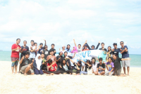 The Government of Student Executive Board of Udayana Univeristy Held Beach Clean Up at Kedonganan Beach