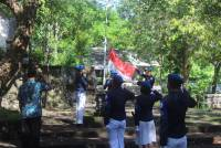Flag Ceremony in a Series of The 5th Anniversary of Faculty of Maritime and Fishery Udayana University
