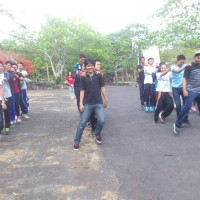 Faculty of Math and Natural Science of Udayana University Held Fun Walk Event