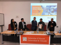 PRIVATE VOCATIONAL SCHOOL, INSPIRE PROGRAM, UDAYANA UNIVERSITY SIGNS THE MOU WITH THE ALICANTE UNIVERSITY, SPAIN