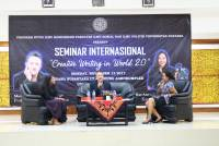 "Seminar Internasional : Write with heart on ""Creative writing In World 2.0"""