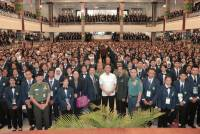 5,909 Unud Students Receive State Defense Debriefing from the Minister of Defense