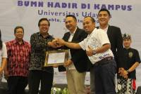 "INDONESIA STATE-OWNED ENTERPRISES AND UNIVERSITY OF UDAYANA HELD SEMINAR ""SOES GOES TO CAMPUS 2017"""