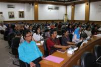 Same Perception, Unud Held Bimtek Preparation DUPAK Lecturer