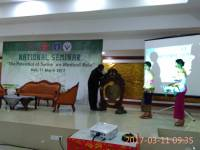 "SEMINAR NASIONAL  ""THE POTENTIAL of SWINE on MEDICAL ROLE"""