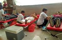 LOW STOCK OF BLOOD, UKM KSR UNUD HELD BLOOD DONATION