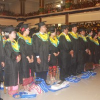 There Are 999 Graduated Students In The 116th Udayana University Graduation Ceremony