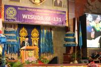 The 131st Graduation of Udayana University