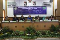 Visitation of Assessors Team of BAN-PT in Bangsa Room Udayana University